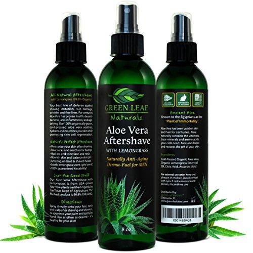 Green Leaf Naturals Aftershave Lemongrass product image