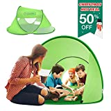 multifun Kids Play Tent, Ventilated Pop Up Tent for Kids, Indoor/Outdoor Playhouse Tent for Boys Girls, Portable Waterproof Family Camping Tent w/Carrying Bag, Sun Shelter for 4-6 Kids or 2-3 Adults