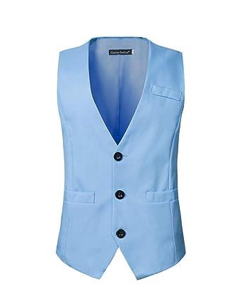 Los Angeles original super promotions Hommes Gilet Costume Classique sans Manches Business Mariage ...