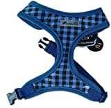 IPuppyone Adjustable Dog Soft Harness 'Spring' Size:Medium Color:Royal Blue