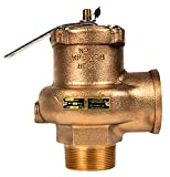 2'' x 2'', 15lb, High capacity low pressure steam boiler safety valves