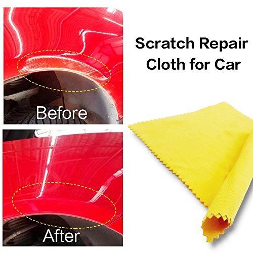 Car Scratch Repair Cloth, Fast Fix Car Paint Scratch Spot Rust Spot Remover Scratch Repairing Polish Surface Scratches Remover Scuffs Beisaqi