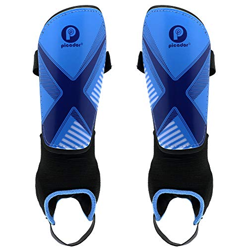 PP PICADOR Kids Shin Guards/Shin Pads for Soccer