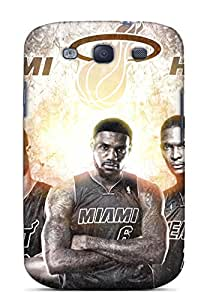Hot Snap-on Miami Heat Ultimate Players Hard Cover Case/ Protective Case For Galaxy S3