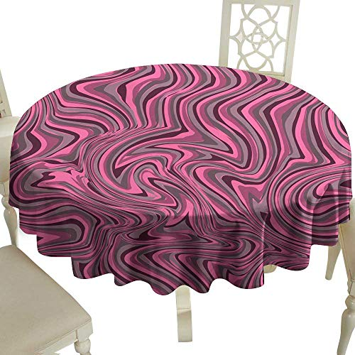 Wrinkle Resistant Tablecloth Marble or Ink Pattern Wavy Stripes Colorful Bright Painted Vector Background Abstract Fashion Texture Graphic Style for Wallpaper Wrapping Fabric Background Apparel Print