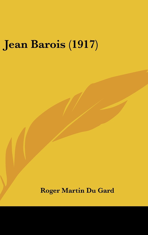 Jean Barois (1917) pdf epub