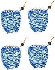 """KUFA Sports Crab Bait Bag 4pcs Combo (380D/15,Stretched mesh Size 3/4""""; BAG"""