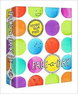 buy face a day journal doodle your mood book online at low prices