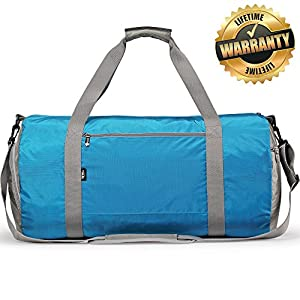 Gym Bag with Shoe Compartment Wet Pocket- Sports Duffel Bag 23 inch