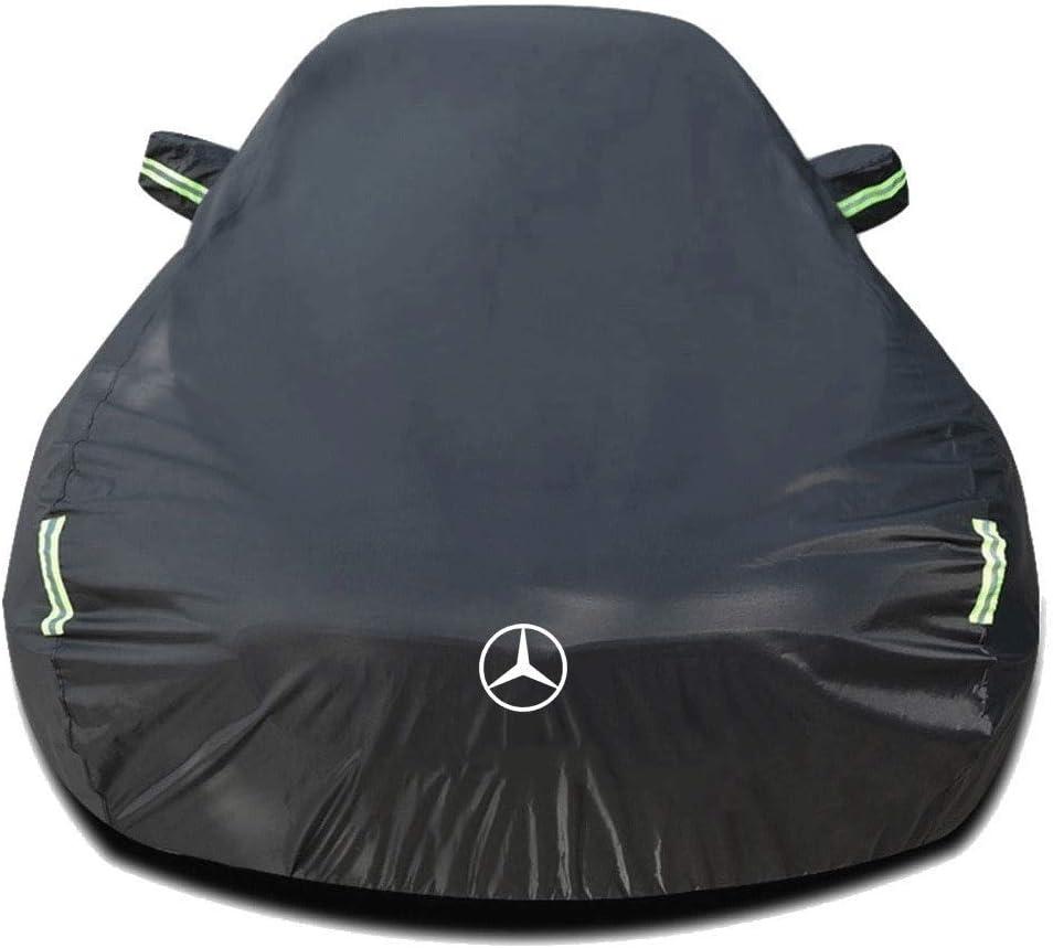 Whitejianpeak Funda para Coche Compatible con Mercedes-Benz GLA-Class GLA Sport/AMG Line/Executive 2020 2021[H247], Impermeable Cubierta para Coche Lona Coche, Interior/Exterior Cubiertas de Coche