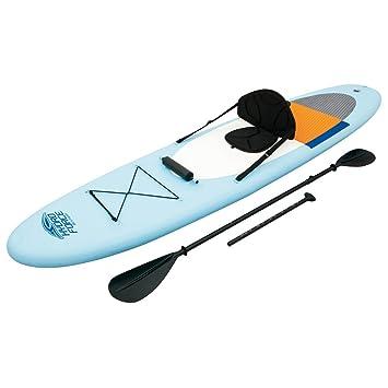 Tabla de Paddle Surf y Kayak Hinchable con Todos los complementos incluidos de 320x81 cm.