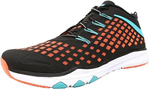 Nike Menns Trene Rask Trening Sko Svart / Hyper Jade-lys Mango