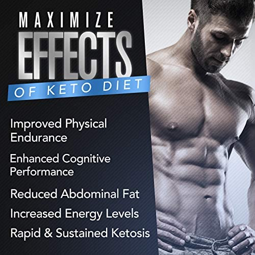 Ultimate Keto - BHB Exogenous Ketones Supplement - Weight Loss and Keto Diet Support - Enter Fast Ketosis - Burn Fat - Beta-Hydroxybutyrate Mineral Salts Formula for Men and Women 3