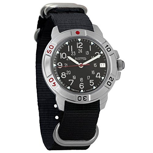 Vostok Komandirskie 2414 431783NB Russian Military Mechanical (Russian Wrist Mechanical Watches)