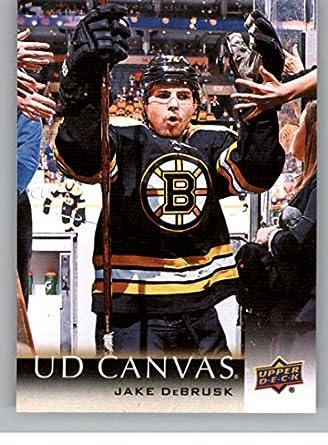 5a605e708 2018-19 Upper Deck Canvas Hockey  C7 Jake DeBrusk Boston Bruins Official NHL  Trading