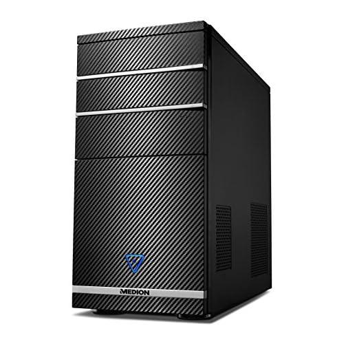 chollos oferta descuentos barato MEDION AKOYA PCC722 Ordenador de sobremesa Intel Core i3 8100 8 GB RAM 1 TB HDD Intel UHD Graphics 630 Sin Sistema operativo Negro