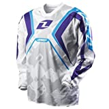 2012 One Industries Carbon Napalm Jerseys - White - X-Large