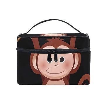 Amazon.com: Organizador de maquillaje mono para colgar en la ...