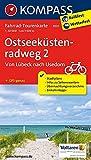 Ostseeküstenradweg 2 - von Lübeck nach Usedom: Fahrrad-Tourenkarte. GPS-genau. 1:50000. (KOMPASS-Fahrrad-Tourenkarten, Band 7031)