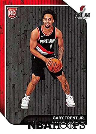 Amazoncom 2018 19 Nba Hoops Basketball 263 Gary Trent Jr