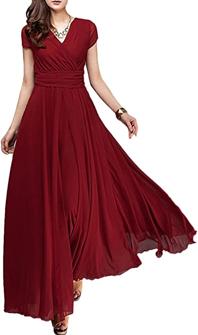 O Neck Chiffon Bridesmaid Dress Short Cocktail Prom Party Formal Homecoming Gown