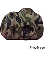 "Niome 8.0MP Kids Children USB Digital Camera Full Color 2.0"""" LCD Mini Camera Cute ArmyGreen"