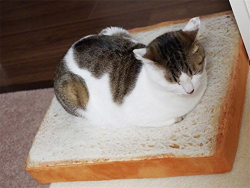 Pet Sofa Bread Cushion Pillow,Cat Cushion Mat (40 * 40...