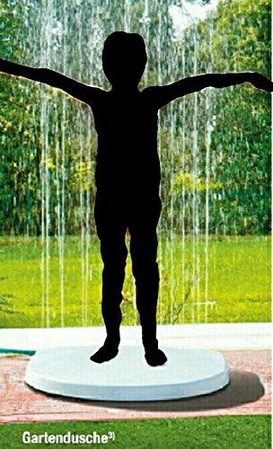 Gartendusche Duschplatte 73,1x71,5x10,7 cm IO