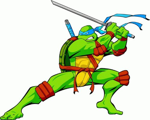 """valstick Teenage Mutant Ninja Turtles Cartoon Car Bumper Sticker Decal 5""""x 4"""""""