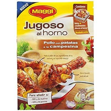 Maggi - Jugoso al Horno Pollo Campesina - 30 g - [Pack de 16 ...