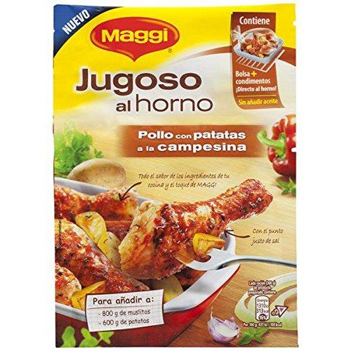 Maggi - Jugoso al Horno Pollo Campesina - 30 g - [Pack de 16]: Amazon.es: Alimentación y bebidas