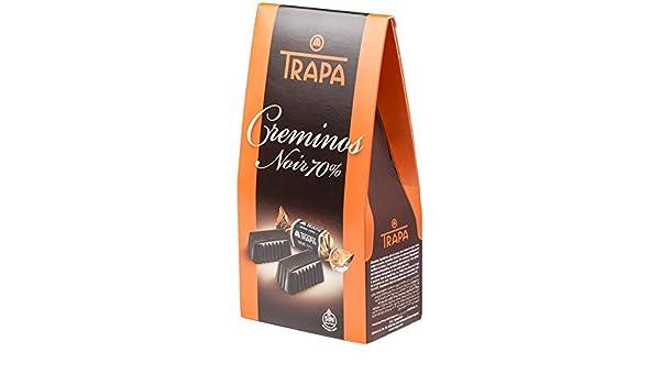 Trapa Creminos Noir 70% Bolsa de Bombones - 48 gr: Amazon.es: Alimentación y bebidas