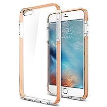 Spigen Ultra Hybrid TECH iPhone 6S Plus Case / iPhone 6 Plus Case with High Quality Bumper Protection for Apple iPhone 6S Plus / iPhone 6 Plus - Crystal Orange