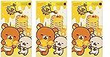 Okamoto Rilakkuma Honey Flavor 'Love Love Hot' Condoms 10 Packs × 3boxes