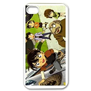 iPhone 4 4s Cases Cell Phone Case Cover Cartoon Detective Conan Case Closed 6R67R846310