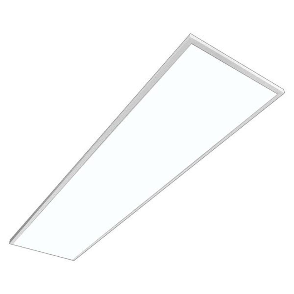 LED Panel, MAREN, PHILIPS CertaDrive, 50W, dimmbar, Active Pure Tageslicht, 1195x295mm, LED Panel, Rasterleuchten, Pendelleuchte, Büroleuchten