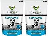 VetriScience Laboratories Composure Dogs, Calming Support Formula, Bite Sized Chews Bundled Canine Health Tracker