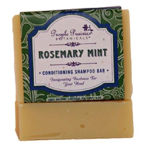 Rosemary Mint Shampoo Bar Soap - 3 Pack