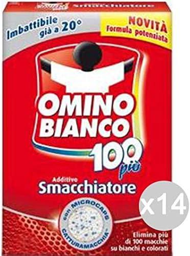 Omino Bianco Juego de 14 perborato 100 piugr 500 detergente ...