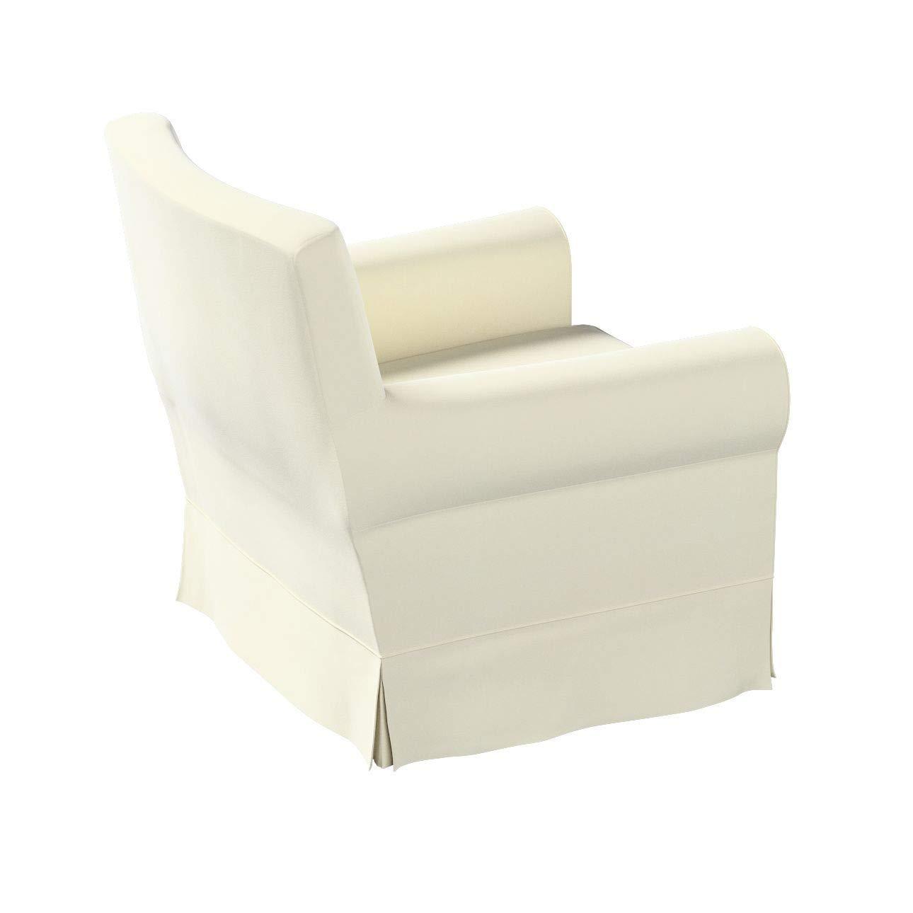 Dekoria Ektorp Jennylund Sesselbezug Sofahusse passend f/ür IKEA Modell Ektorp altwei/ß