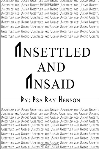 Download Unsettled and Unsaid pdf epub