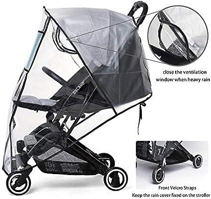 Cubierta Universal impermeable para cochecito de bebé para