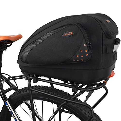 Ibera Bicycle PakRak Commuter MultiMount Bag by Ibera