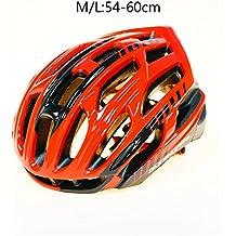 Scrohiro Mtb Mountain Bike Helmet Cascos Bicicleta Carretera Ciclismo Bicycle Cycling Intergrally Light red blk