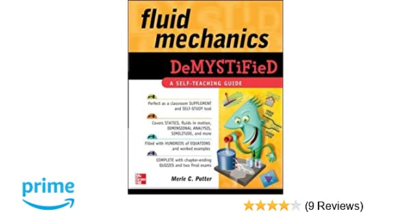 Fluid Mechanics DeMYSTiFied: Merle Potter: 9780071626811