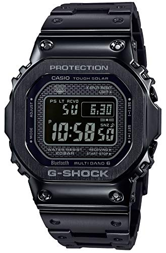 CASIO G-Shock GMW-B5000GD-1JF G-Shock Connected Radio Solar Black Watch (Japan Domestic Genuine Products)