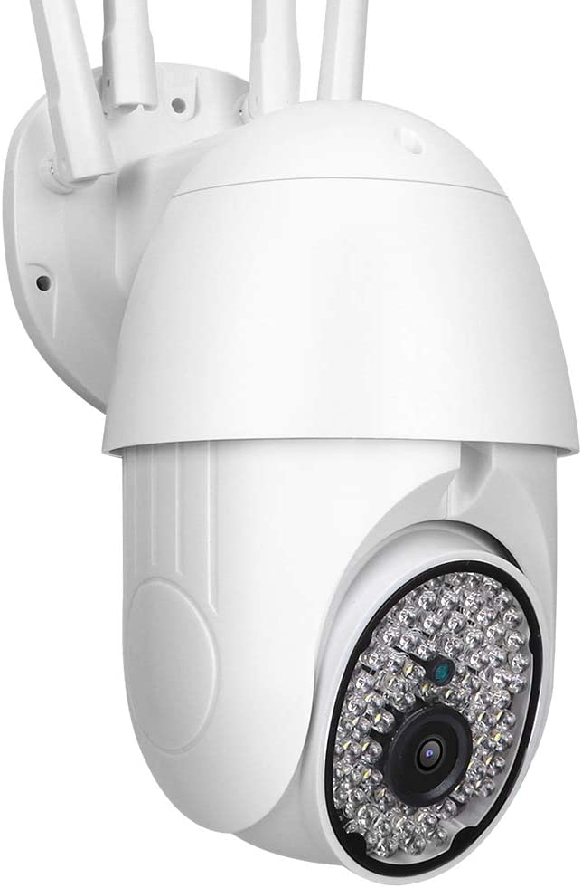 Cámara De Seguridad Ptz Wifi Ip Cámara Domo Cctv 1080p Exterior Cámara De Seguridad Inalámbrica Con Monitor Panorámico Impermeable Para El Hogar Exterior Eu Amazon Es Bricolaje Y Herramientas