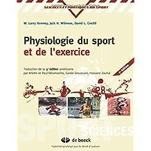 Physiologie sport/exerc.    6e sciences et pratique