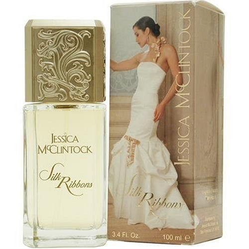 Jessica Mc Clintock Silk Ribbons By Jessica Mcclintock For Women. Eau De Parfum Spray 3.4 oz (Silk Spray Perfume)