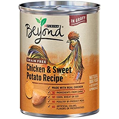 Purina Beyond Grain Free Chicken & Sweet Potato Recipe (6-CANS) (NET WT 13 OZ Each CAN)